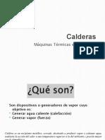 3 PRESENTACIÓN CALDERAS