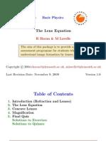 Lens Equation