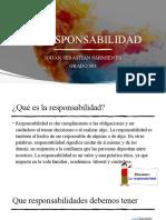 DIAPOSISTVAS DE ETICA LA RESPONSABILIDAD