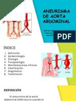 ANEURISMA DE AORTA ABDOMINAL-1