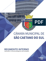 Regimento Interno Sao Caetano Do Sul 2018
