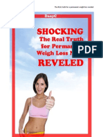 SHOCKING! The real truth for Permanent Weight loss REVELED