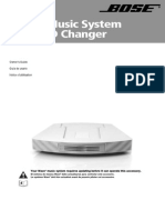 Bose CD Changer