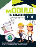 MVBA006 - MODULO DE MATEMATICAS 1