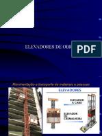 ELEVADORES DE OBRAS