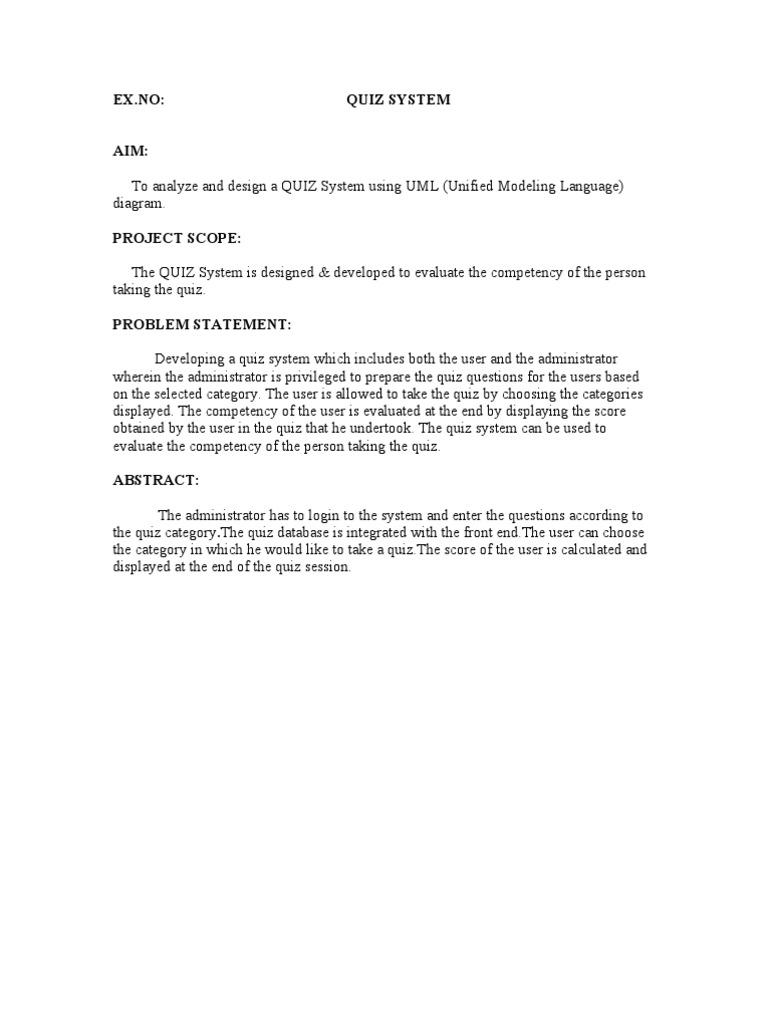 Quiz system user computing password ccuart Images
