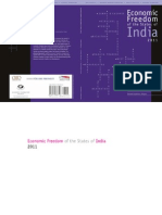 Economic Freedom of the States of India 2011