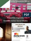Pequeños negocios, grandes éxitos en Social Media