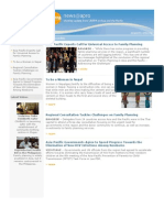 January 2011, Asia-Pacific Experts Call for Universal Access to Family Planning