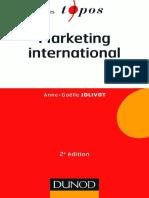 Marketing international livre