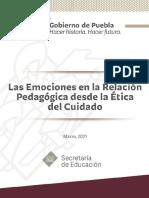 Las Emociones en La Relación Pedagógica-Desde La Etica Del Cuidado Secretaria de Educación Of