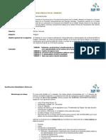 Dosificación temática HD 2020-1