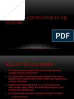 Industrial Contribution to the Economy