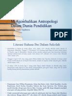 Literasi Budaya di Papua