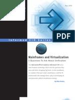 InformationWeek Analytics Informed CIO Mainframes