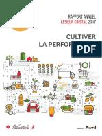 Rapport Annuel Lesieur Cristal 2017