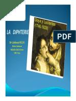 La Diphtérie