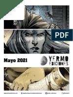 Novedades Yermo Ediciones Mayo 2021