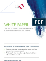 Quantifi Whitepaper - The Evolution of Counterparty Credit Risk