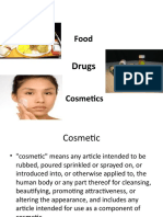 Food, Drugs and Cosmetics Act presentation - Copy