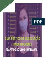 GUIA DE MUSCULAÇÃO PARA MULHERES ADAPTADO AO USO DE MÁSCARAS