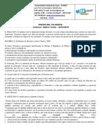 TD DE FILOSOFIA - ALDENIR
