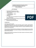 GUIA DE APRENDIZAJE - DISTRIBUCIÓN DEL AIRE COMPRIMIDO