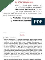 1.2 Kinds of jurisprudence (1)