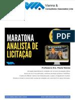 PDF Aula 2 Maratona do Analista de Licitacao