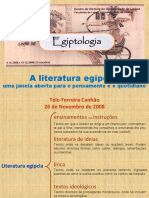 A Literatura Egípcia