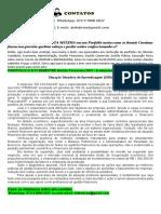 """Portfólio 2º e 3º Semestre Gestão Financeira 2021 - A Empresa """"Só Cachaças"""""""