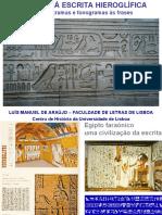 Escrita hieroglífica