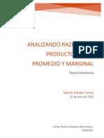 Muñoz_Cindy_Analizando razones de producto total