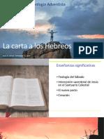 La Carta a los Hebreos Simposio 2020 virtual
