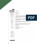 Hoi``ke Board President's Unresponsive Letter to Ed Coll