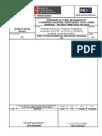 """Informe N° 185_2021_Resultado de Revisión y Verificación Topografía de Alcantarillas TMC Ф 36""""– km 20+132.44, 20+269.00, 20+460.00, 20+642.28, 20+868"""