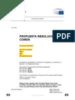 Resolución Aprobada 29 Abril Parlamento Europeo EEP ECR RENEW