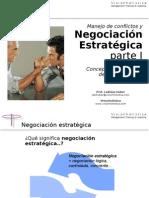 conferencia negociacion estrategica parte I conceptos y principios
