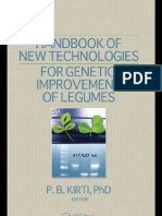 Handbook of New Technologies for Genetic Improvement of Legumes (CRC 2008)
