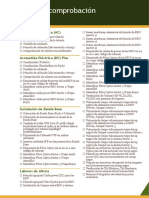 Lista de Comprobación Instalacion RBS