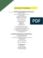 Asociación y Sociedad. Fenomenología de la asociación y la convivencia colectiva