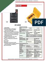 medidores-de-aislamiento-megohmetros-digitales-vdc-megaohmios-st-2550-sew-catalogo-ingles