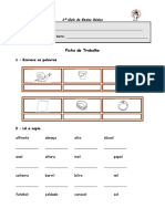 Língua Portuguesa - Ortografia I