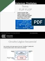 Trabajo de Exposición Grupo 2 Flip Flop Sistemas Digitales