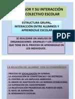 EL PROFESOR Y SU INTERACCIÓN CON EL COLECTIVO