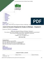 Anais do Encontro Regional de Ensino de Biologia – Regional 4 _ SBEnBio