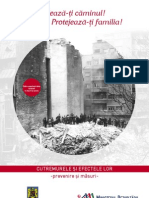 brosura Cutremurele si efectele lor - prevenire si masuri