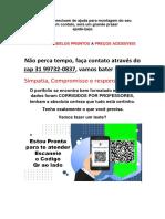 31 997320837 TENHO PRONTO a Criacao de Um Projeto de Intervencao
