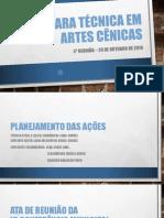 CÂMARA TÉCNICA EM ARTES CÊNICAS - 02.12.2018