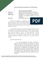Renan Calheiros na CPI da Covid